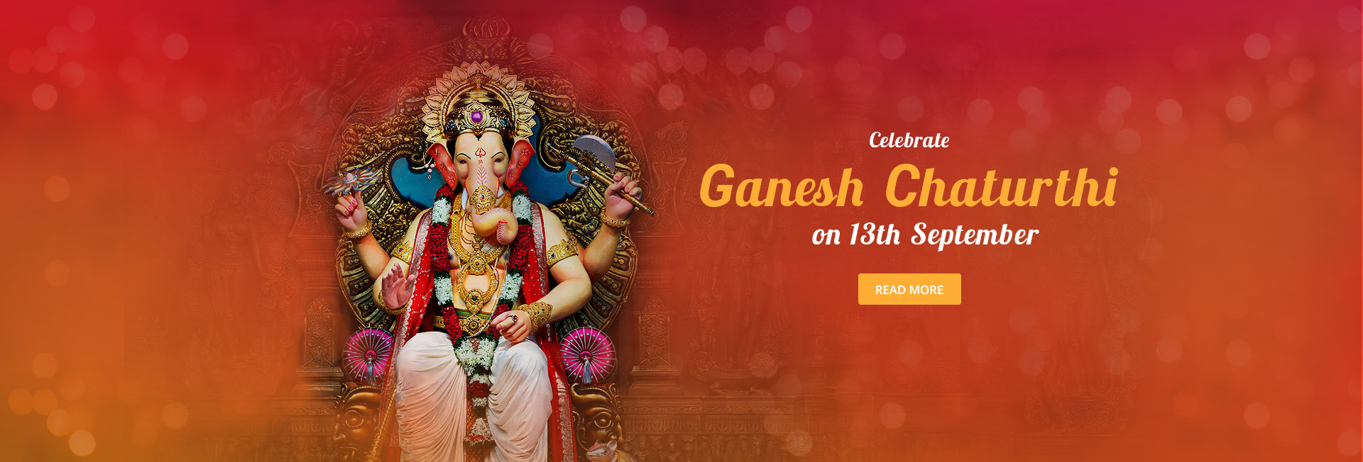 Celebrate Ganesh Chaturthi on 13th September